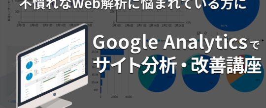 Google Analyticsでサイト改善/完全対策講座